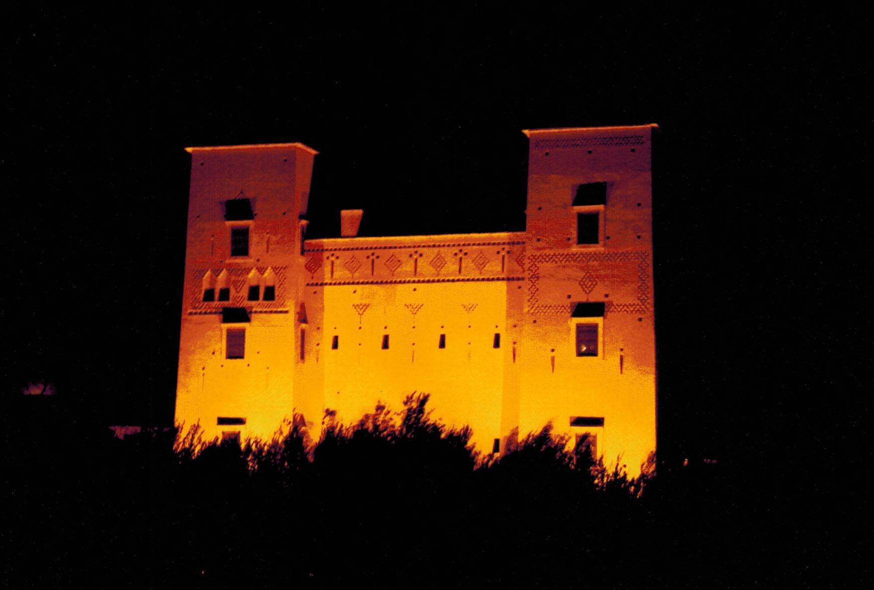 Dar Ahlam kasbah in Skoura, Morocco