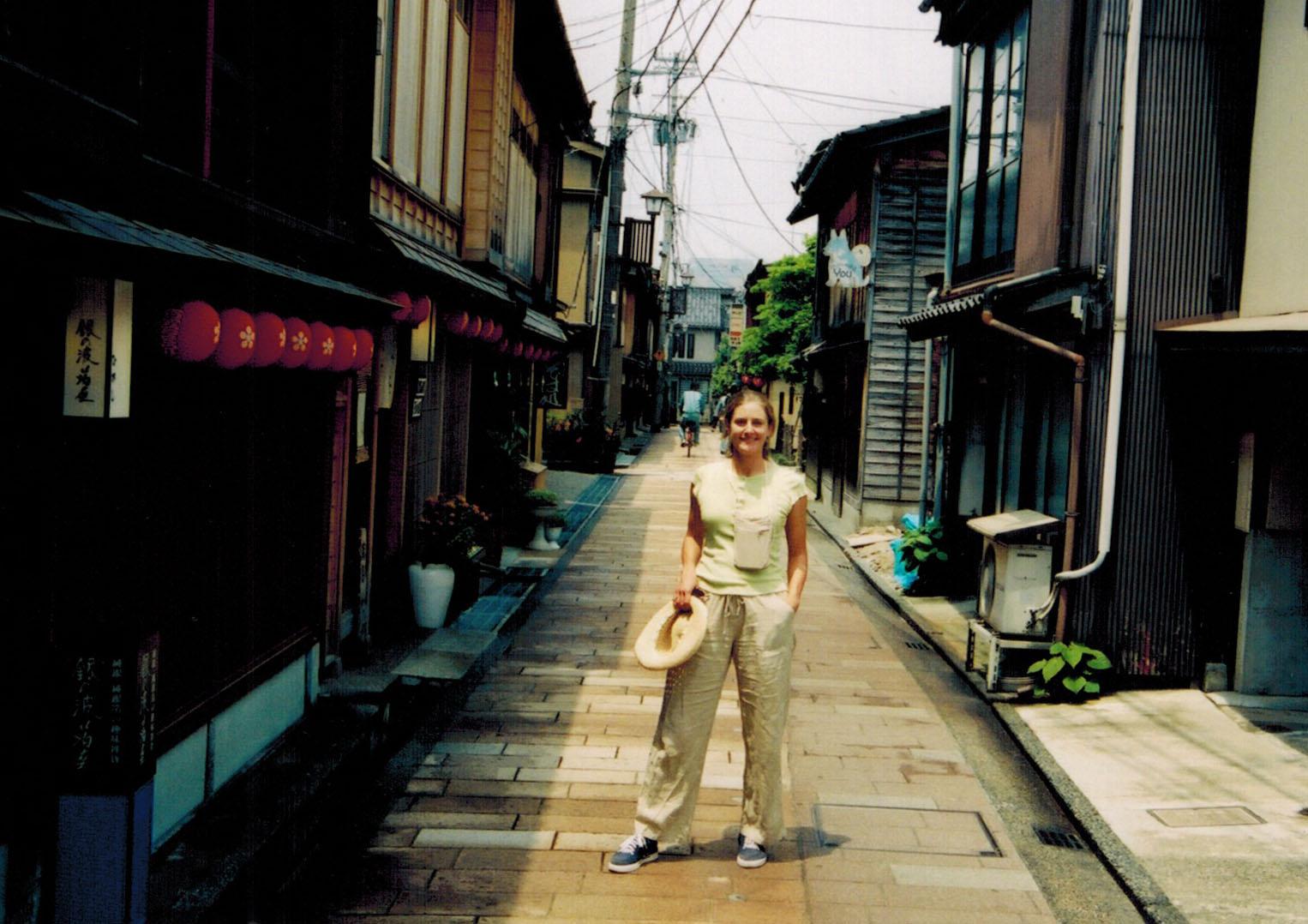 Christi in Kyoto Japan