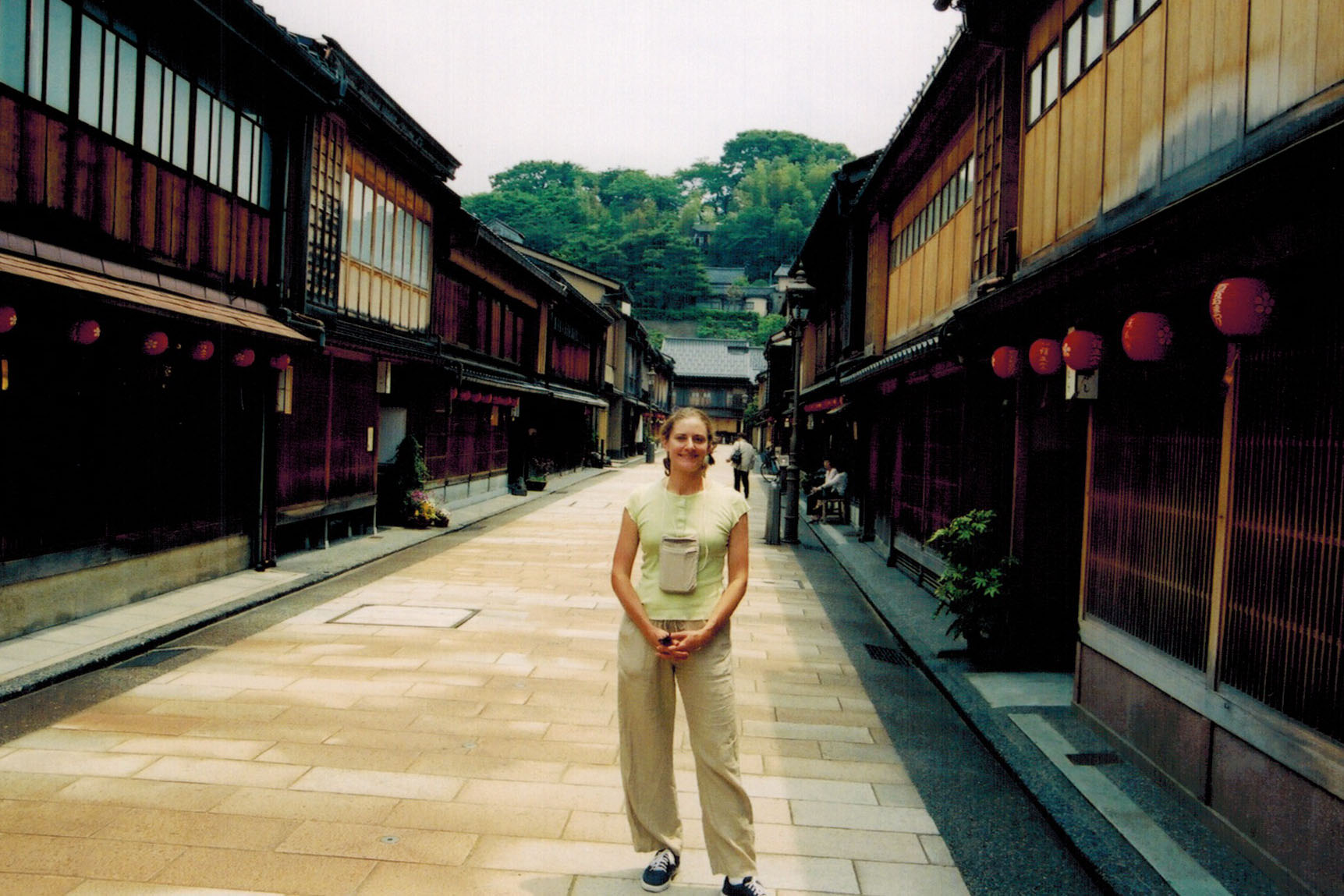 Christi in Kyoto's Gion District
