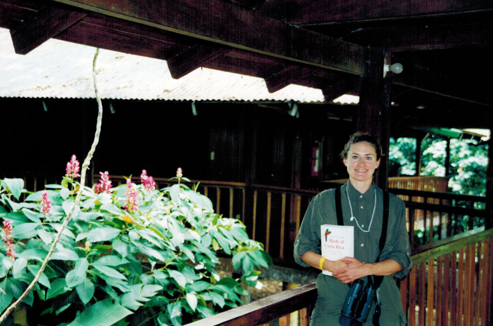 Christi at La Selva in Costa Rica