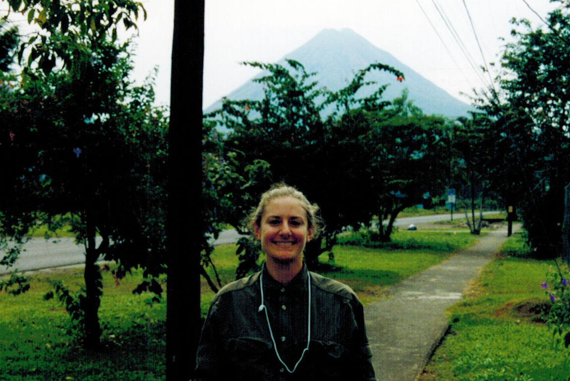 Christi at Arenal in Costa Rica