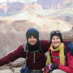 Hector & Christi in Grand Canyon National Park