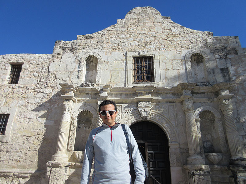Hector at The Alamo
