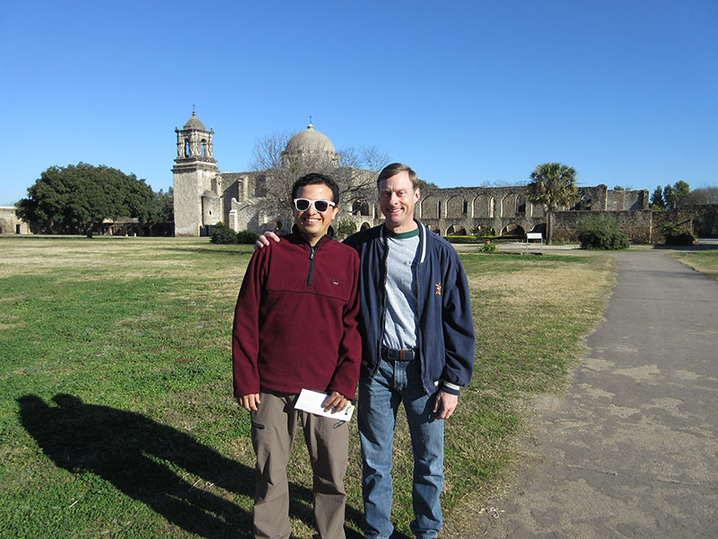 Hector & Matt at Mission San Jose
