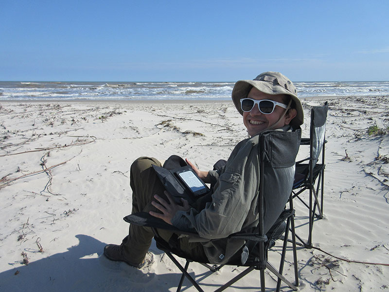 Hector at Padre Island National Seashore
