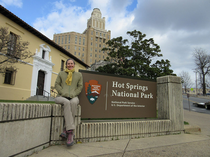 Christi at Hot Springs National Park