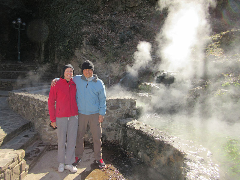 Christi & Hector at Hot Springs National Park