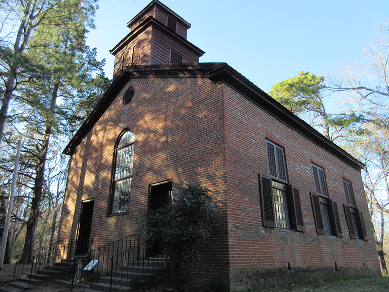 Rocky Springs Church in Mississippi