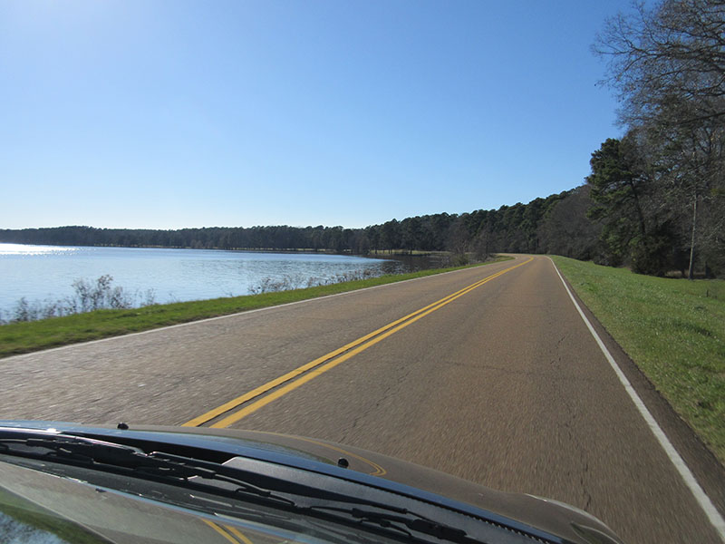 Ross Barnett Reservoir on Natchez Trace Parkway