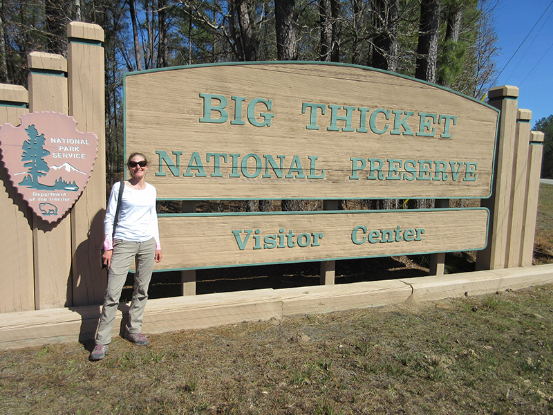 Christi in Big Thicket National Preserve
