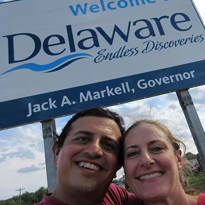 Hector & Christi in Delaware