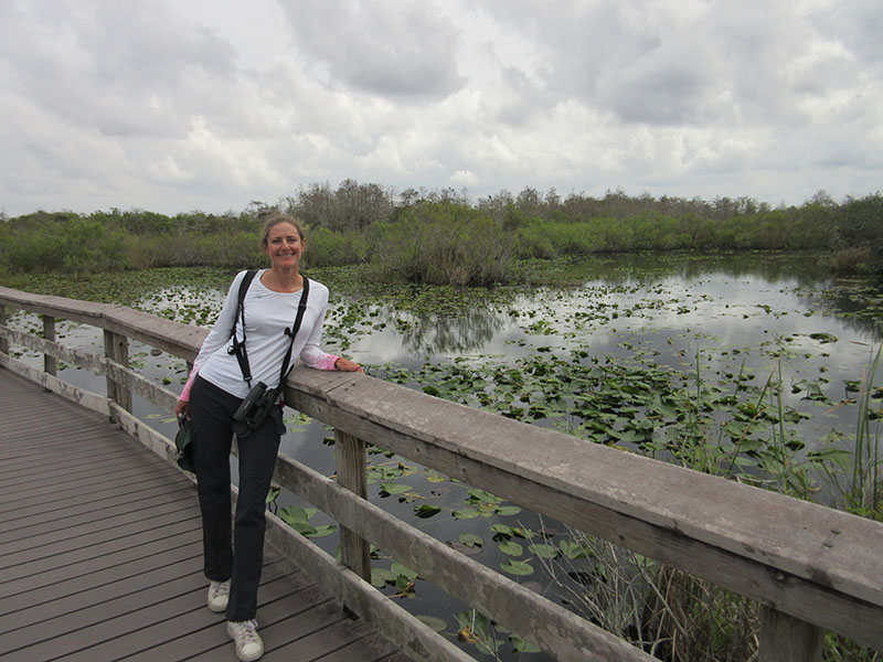 Christi at Everglades National Park