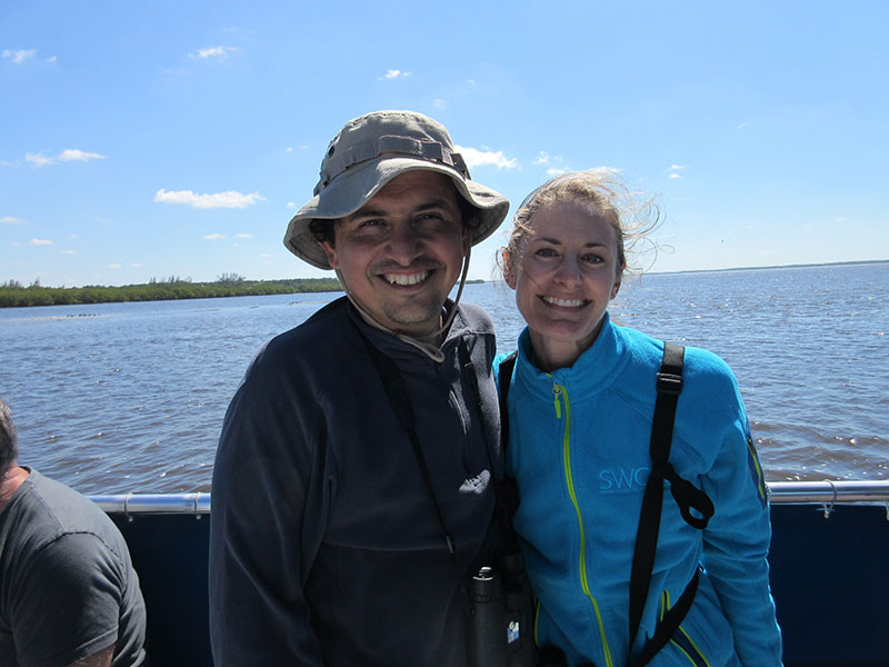 Christi & Hector at Everglades National Park