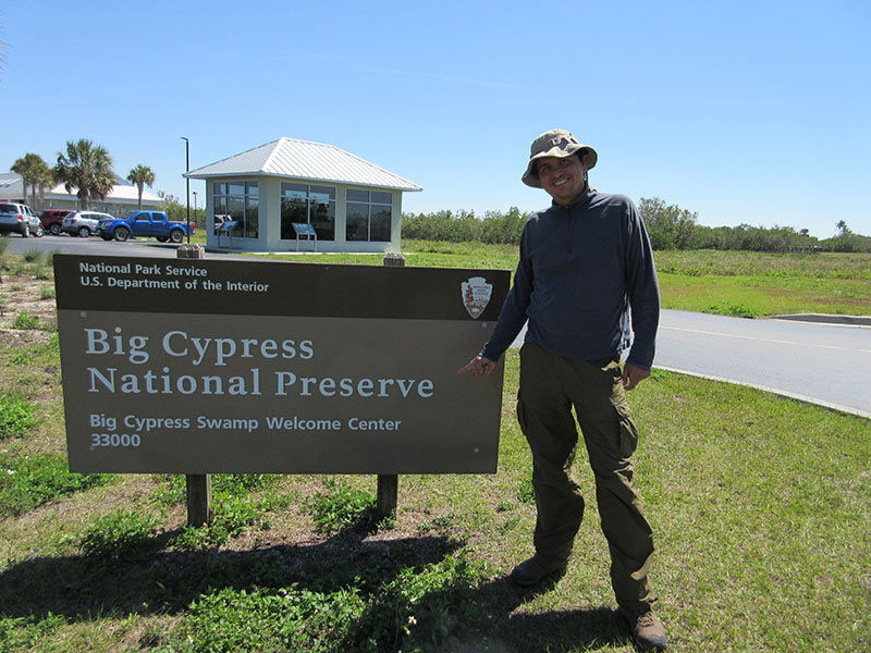 Hector at Big Cypress Preserve