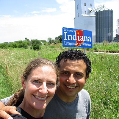 Christi & Hector in Indiana