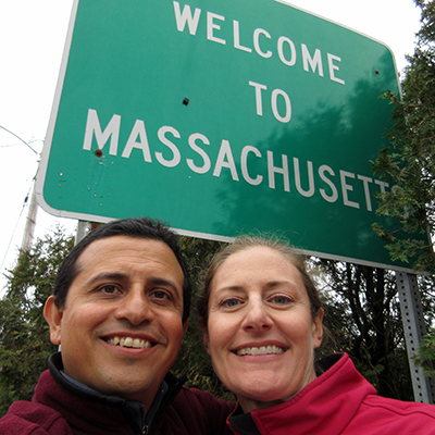 Hector & Christi in Massachusetts