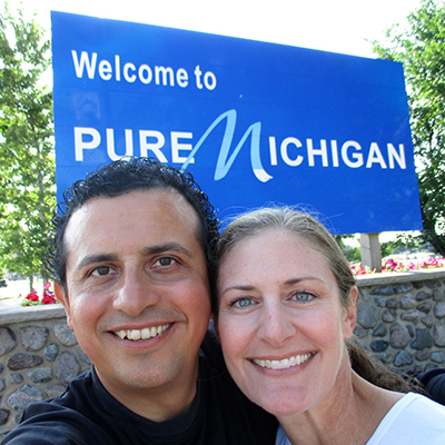 Hector & Christi in Michigan