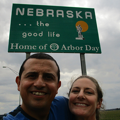 Hector & Christi in Nebraska