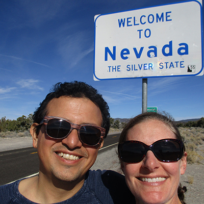 Hector & Christi in Nevada
