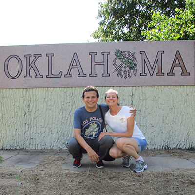 Hector & Christi in Oklahoma
