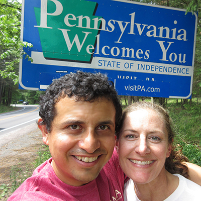 Hector & Christi in Pennsylvania