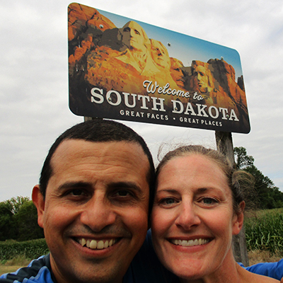 Hector & Christi in South Dakota
