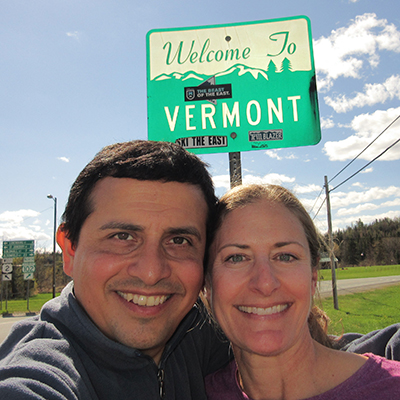 Hector & Christi in Vermont