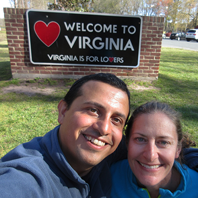 Hector & Christi in Virginia