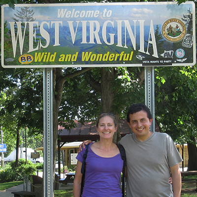 Christi & Hector in West Virginia