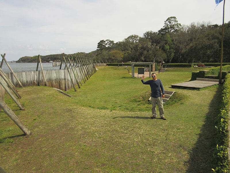 Hector at Timucuan's Fort Caroline