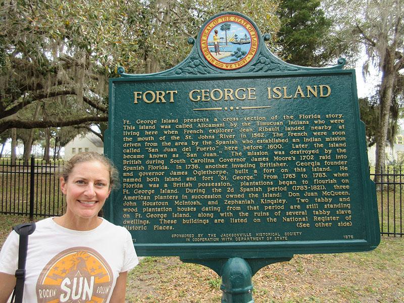 Christi on Fort George Island