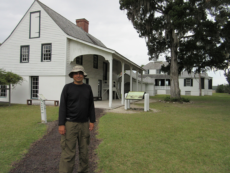 Hector at Kingsley Plantation