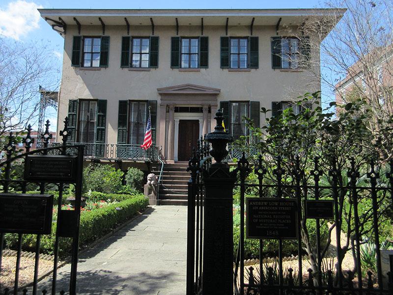 Andrew Low House in Savannah GA