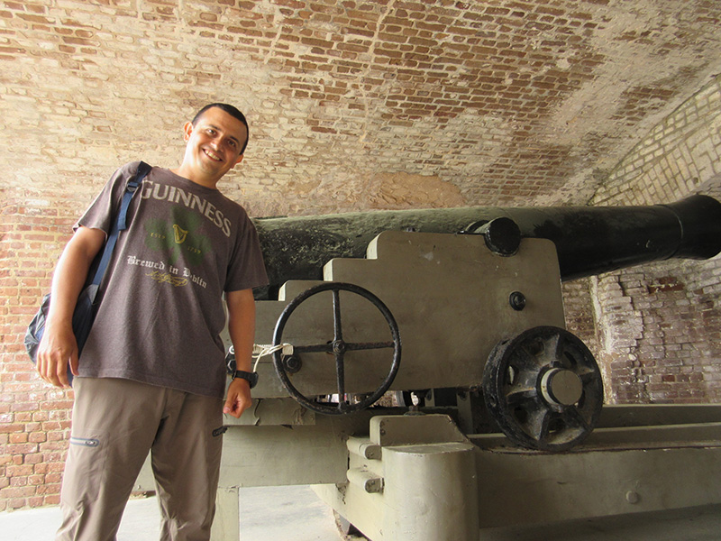 Hector at Fort Sumter