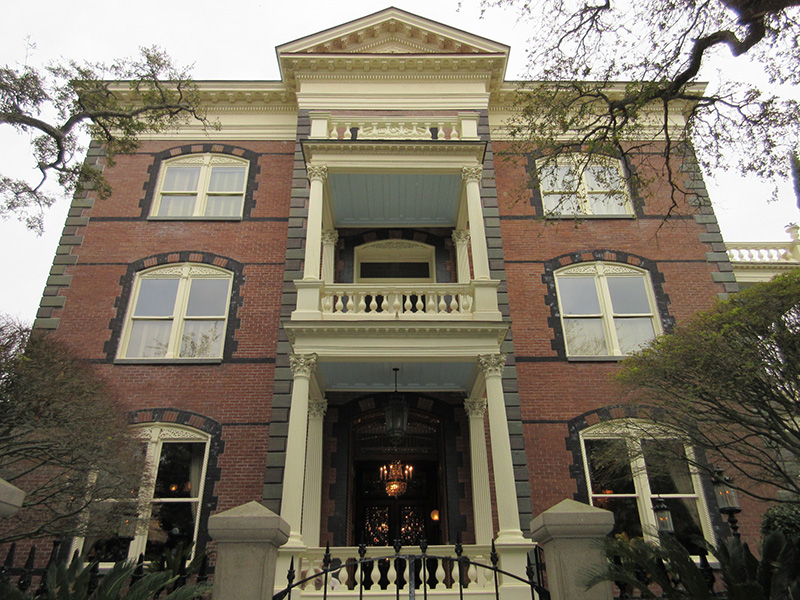 Calhoun Mansion in Charleston SC