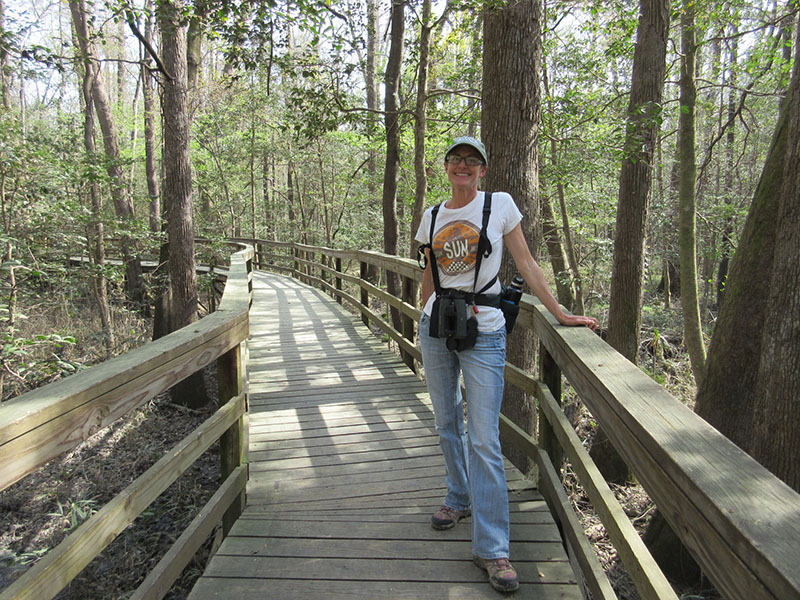 Christi at Congaree National Park