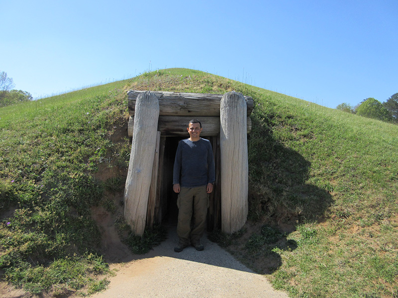 Hector at Ocmulgee National Monument
