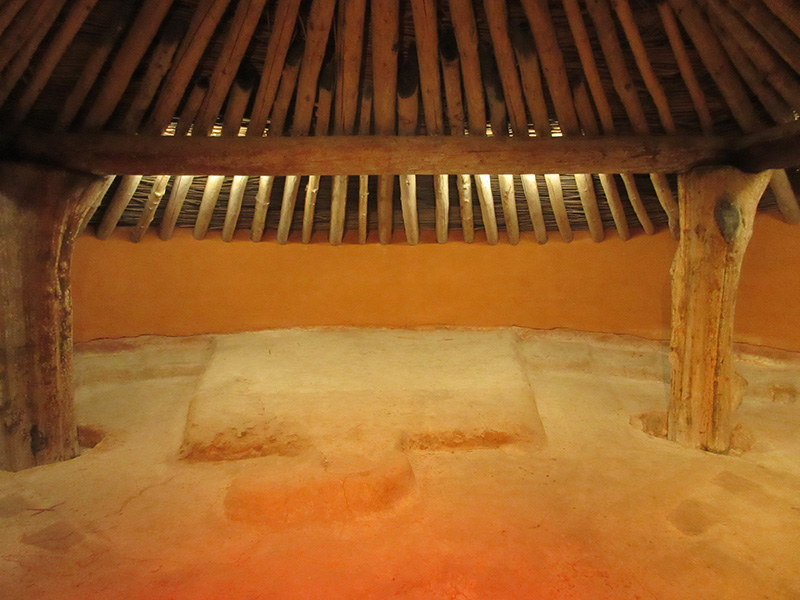 Earth Lodge at Ocmulgee National Monument
