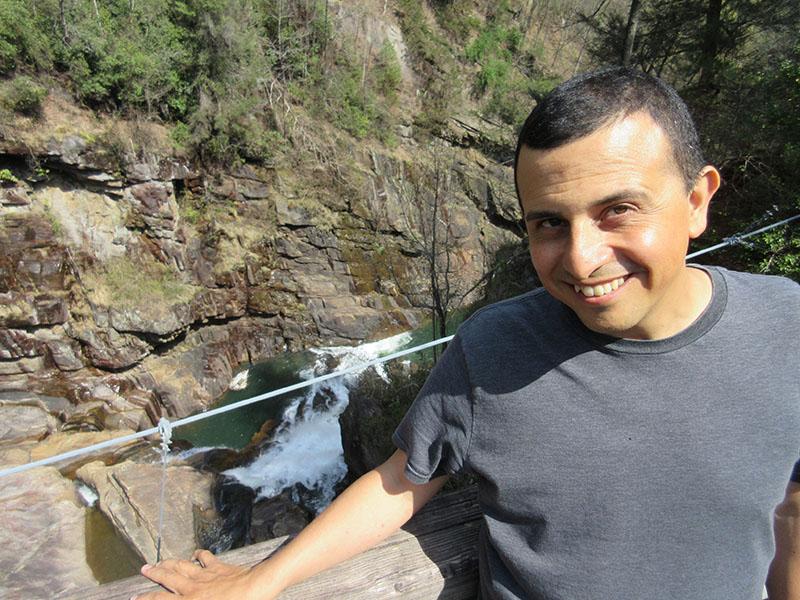 Hector at Tallulah Gorge
