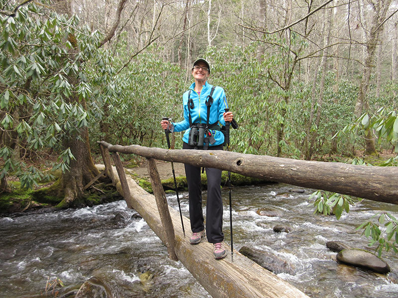 Christi at Great Smoky Mountain National Park