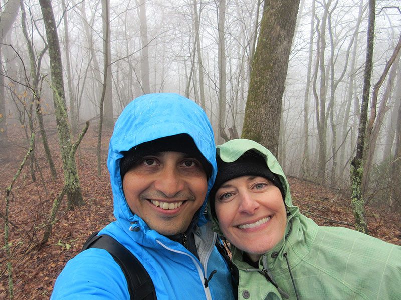 Hector & Christi at Great Smoky Mountains National Park