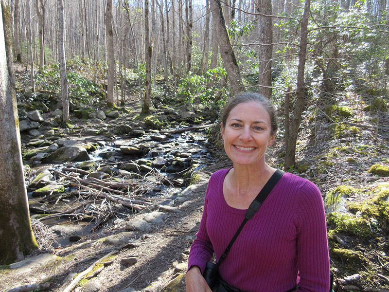 Christi at Great Smoky Mountains National Park