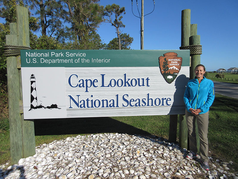 Christi at Cape Lookout National Seashore