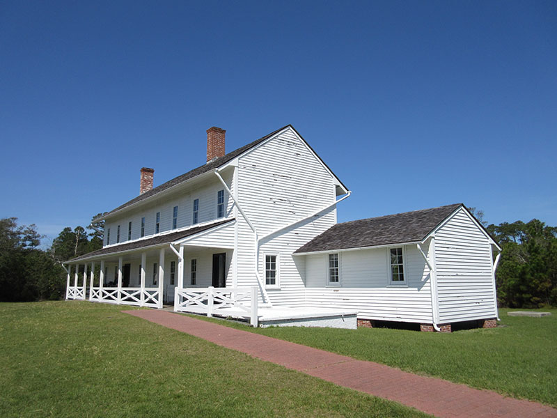 Cape Hatteras Lightkeeper's house