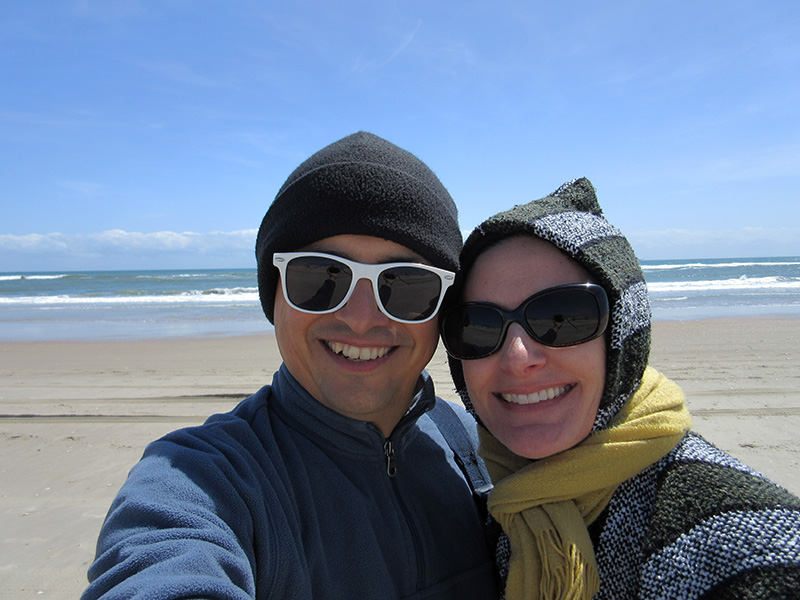 Hector & Christi at Cape Hatteras National Seashore
