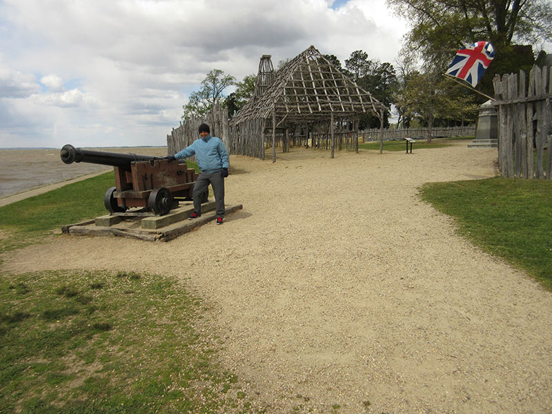 Hector at Historic Jamestowne