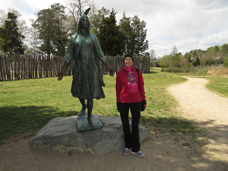 Christi at Historic Jamestowne