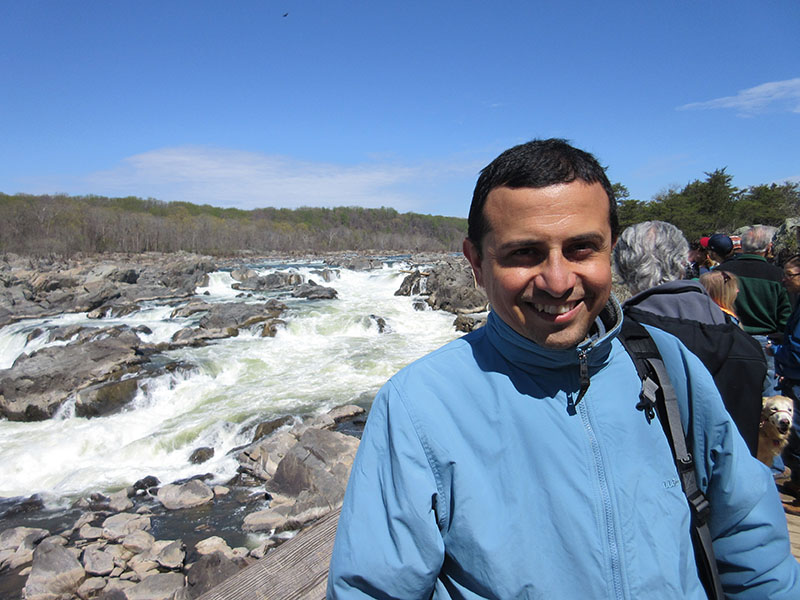 Hector at Great Falls of the Potomac