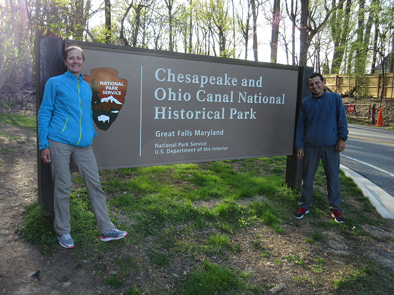 Christi & Hector at Chesapeake and Ohio Canal National Historical Park