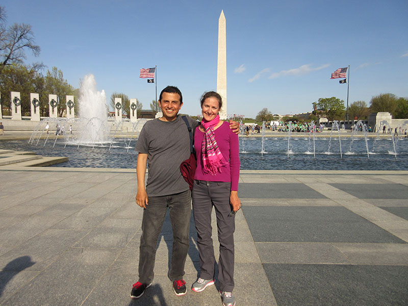 Hector & Christi in Washington DC